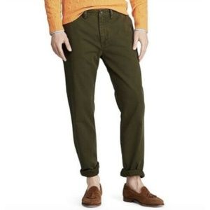 NWT Polo Ralph Lauren Classic Fit Olive Chinos